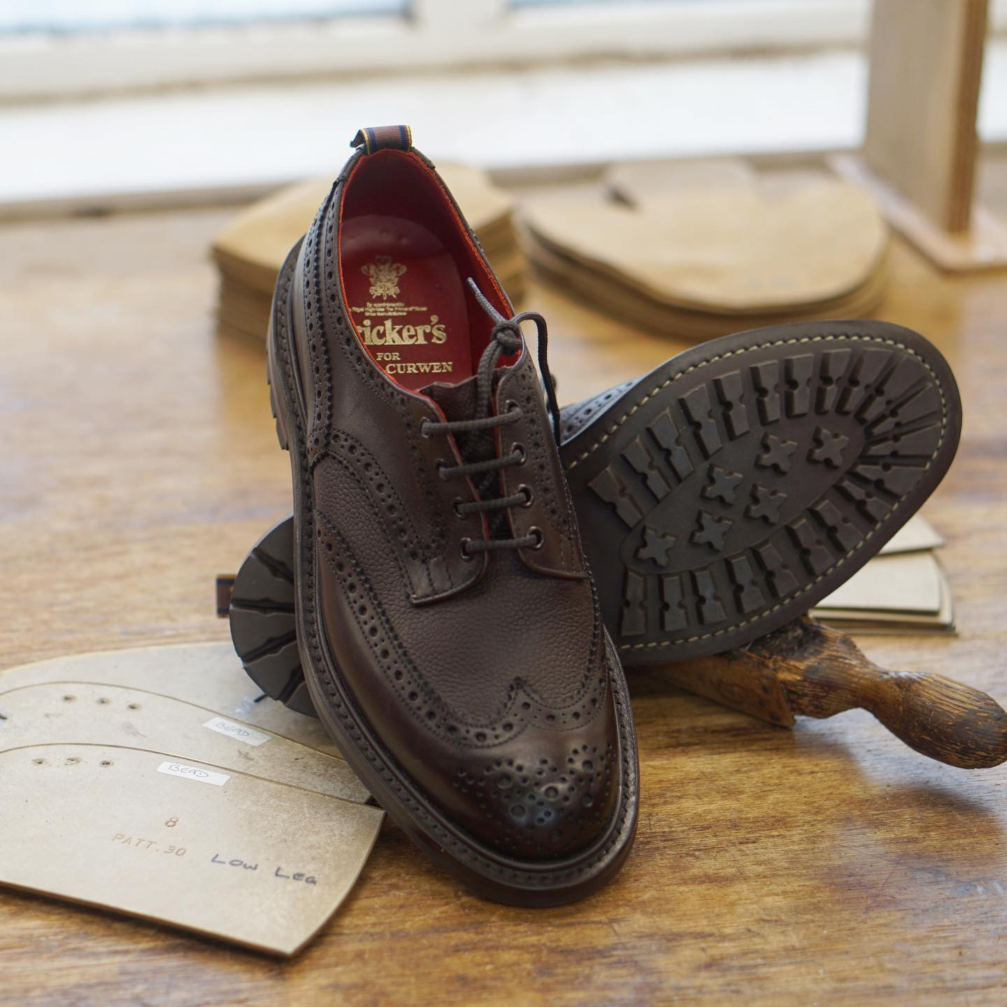 In collaboration with @Trickers_Shoes this season.