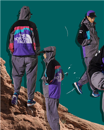 "【The North Face X INVINCIBLE ""THE BACKSTREET"" 】"
