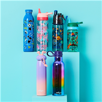 Stay hydrated with smiggle! Our range of bottles are refillable, fits easily into your backpack and comes in loads of different prints and designs! Head instore today to get yours!😄