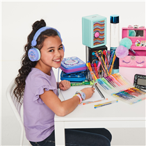 Deck out your desk with smiggle! from clocks to marker, jewellery boxes and more we have got you covered! head into store to shop with us today! 🌟
