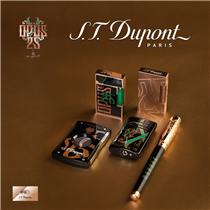 "S.T. Dupont is proud to sign a new collaboration with ""Fuente""."