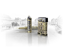 With the new « FROM PARIS WITH LOVE » limited edition, S.T. Dupont pays tribute to its roots and to the Parisian architecture.