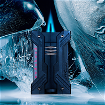 "S.T. Dupont is proud to present you the first lighter with 2 blue torch flames : Défi ""XXtrême"". Thanks to its pyramid shape flames, it's now possible to ignite a cigar twice quicker than usual, even through the strongest winds and the coldest temperatures."