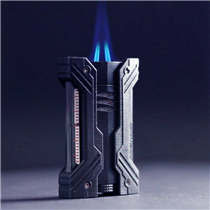We know cigar aficionados are always looking for new outstanding experiences. S.T. Dupont is proud to present you « Défi XXTreme » the first lighter with two blue torch flames. With its pyramid shape flames, enjoy a whole new experience when lighting your cigars :