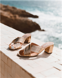 Step into summer with a pair of Bally Evoria sandals. Get yours on Bally.com