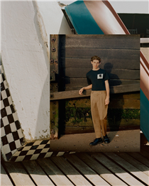 Our first SS20 Summer Edit shoot created by the photographer Oliver Marshall in isolation on the south east coast and beaches near Margate. festivalwalk ....