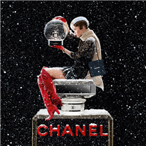 CHANEL is the spirit of Christmas.
